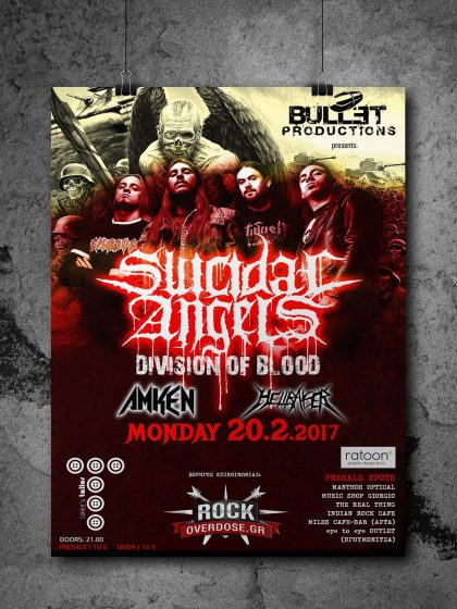 Poster for Suicidal Angels